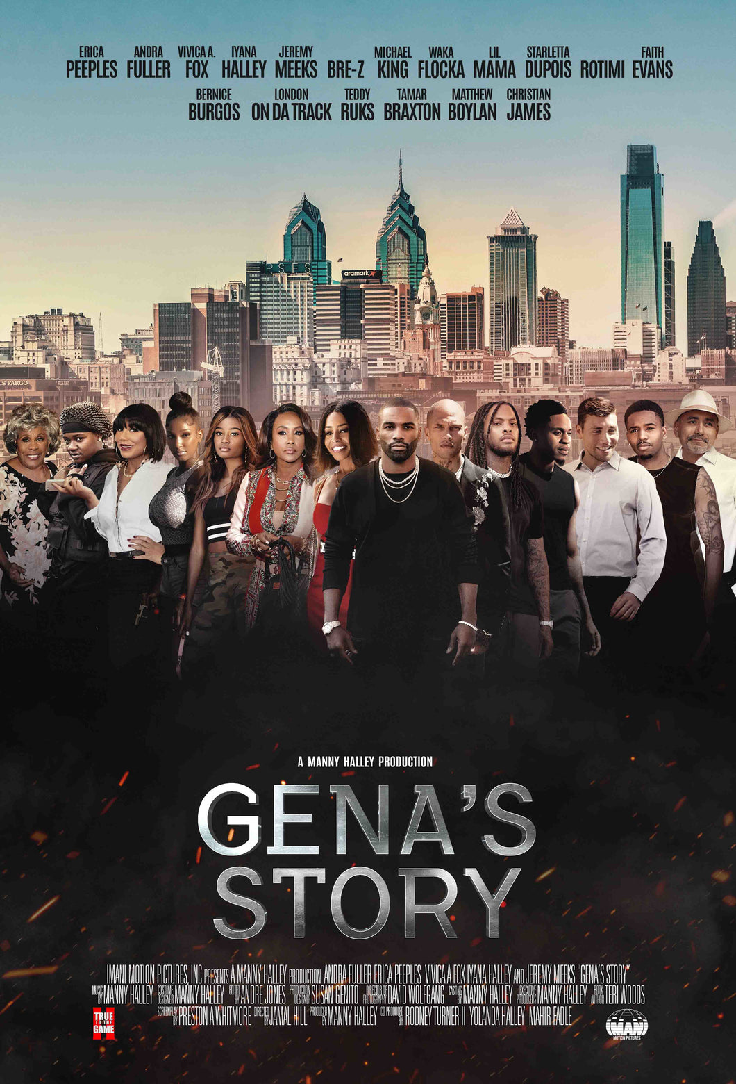Poster Pelicula Gena's Story
