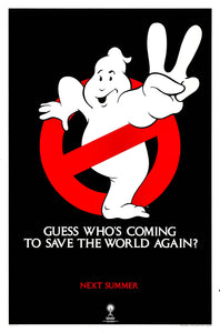 Poster Pelicula Ghostbusters II