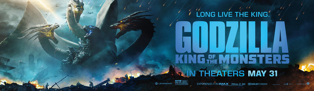 poster Pelicula Godzilla: King of the Monsters 15