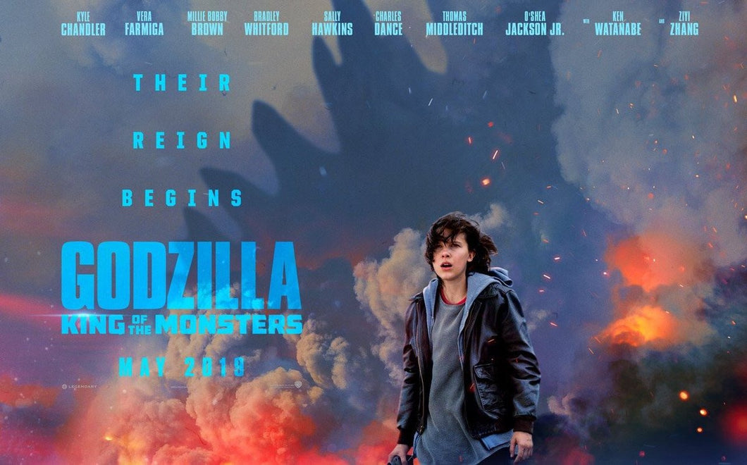 Poster Pelicula Godzilla: King of the Monsters