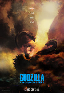 Poster Pelicula Godzilla: King of the Monsters 2