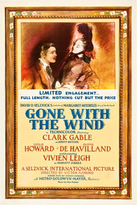 Poster Película Gone With the Wind