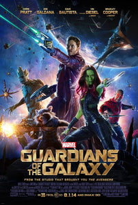 Poster Pelicula Guardians of the Galaxy