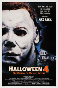 Poster Pelicula Halloween 4: The Return of Michael