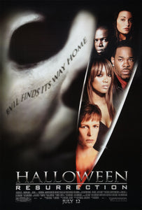 Poster Pelicula Halloween: Resurrection