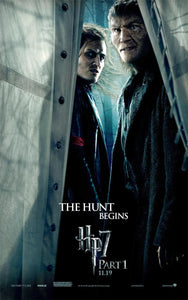 Poster Pelicula Harry Potter and the Deathly Hallows: Part I
