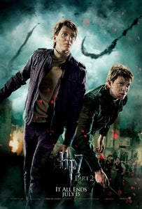 Poster Pelicula Harry Potter and the Deathly Hallows: Part II