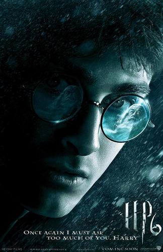 Poster Pelicula Harry Potter and the Half-Blood Prince