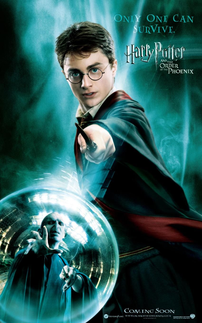 Poster Pelicula Harry Potter and the Order of the Phoenix