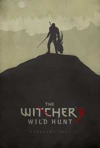 Poster Juego The Witcher 3 7