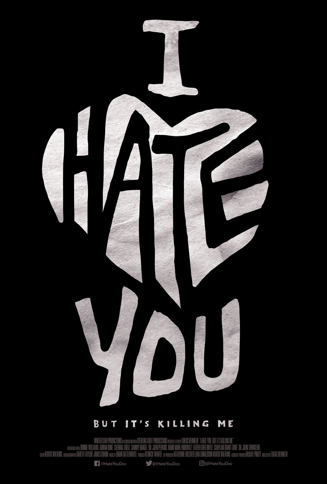 Poster Pelicula I hate You, But It's Killing Me