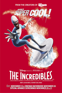 Poster Pelicula The Incredibles