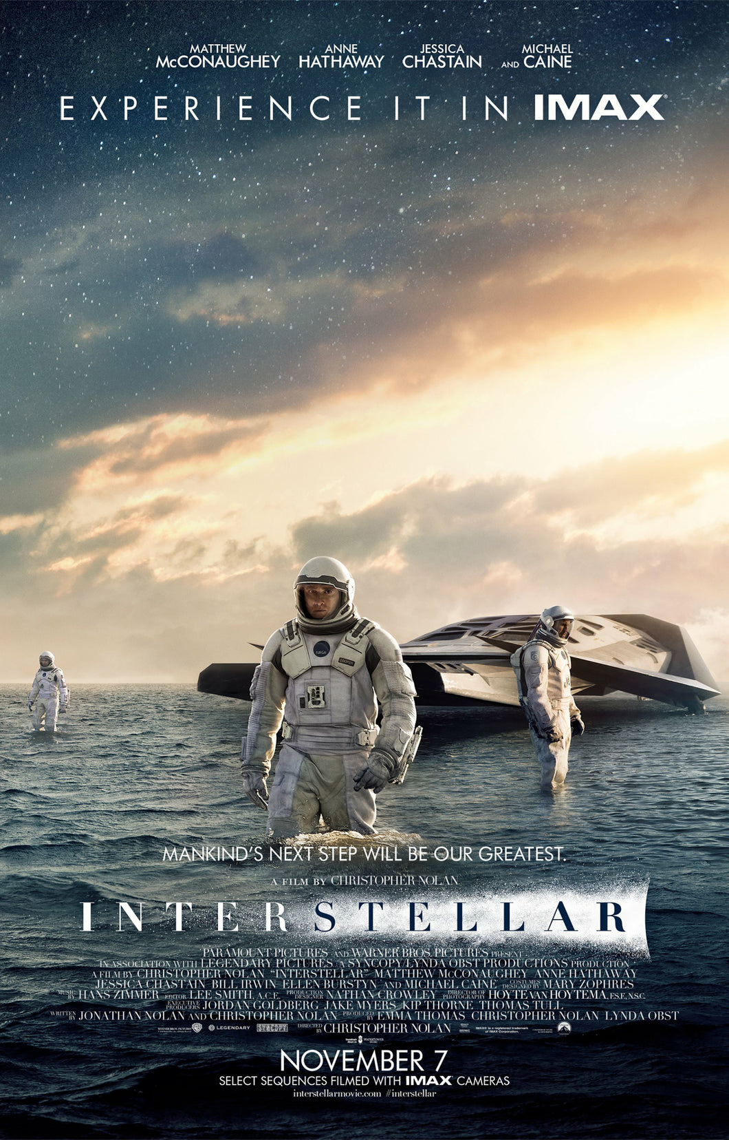 Poster Película Interstellar 5