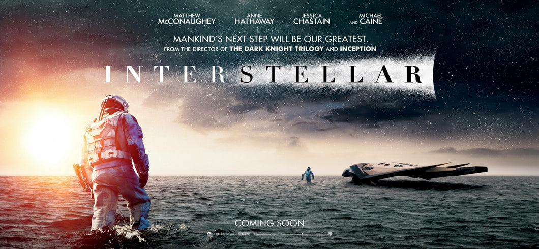 Poster Película Interstellar 4