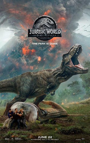 Poster Pelicula Jurassic World: Fallen Kingdom