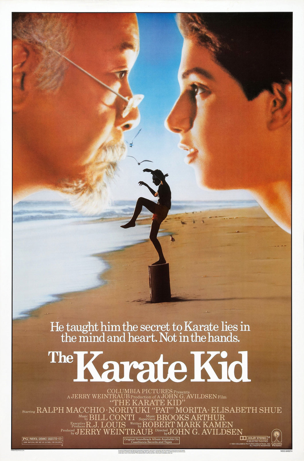 Poster Pelicula The Karate Kid