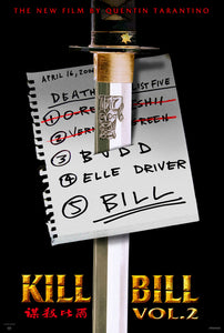 Poster Película Kill Bill: vol. 2 4