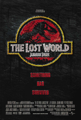 Poster Pelicula The Lost World: Jurassic Park