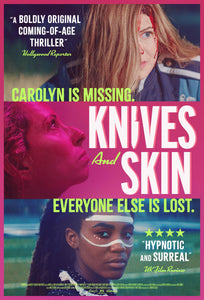 Poster Pelicula Knives And Skin