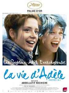 Poster Pelicula Blue is the Warmest Color