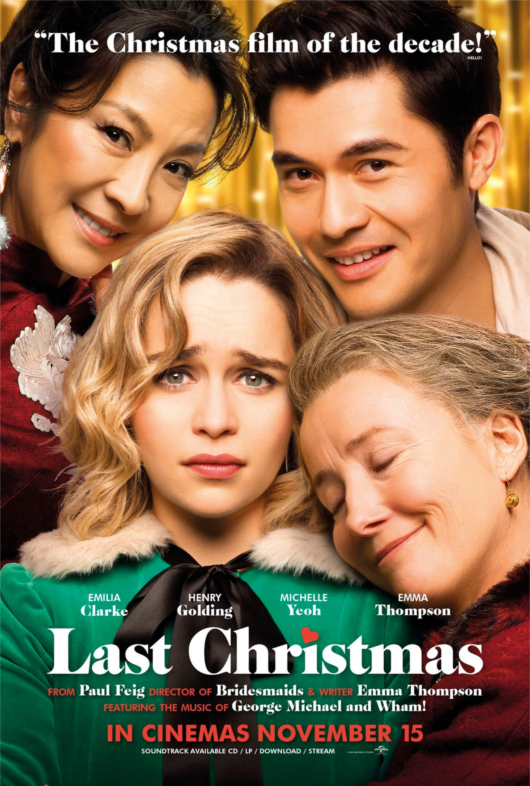 Poster Pelicula The Last Christmas