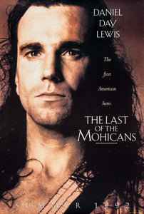 Poster Pelicula The Last of the Mohicans