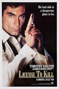 Poster Pelicula Licence to Kill