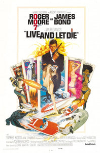 Poster Pelicula Live and Let Die
