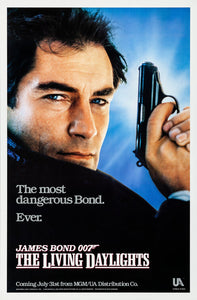 Poster Pelicula The Living Daylights