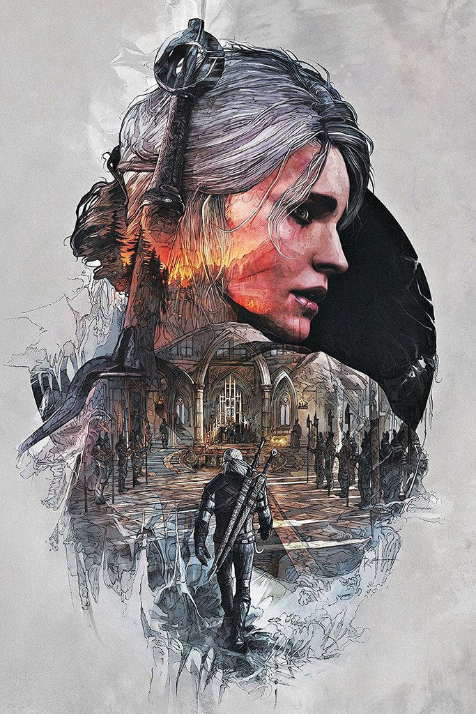Poster Juego The Witcher 3 6