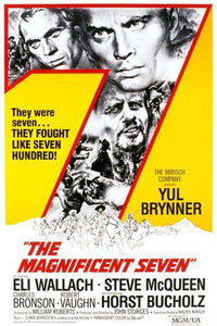 Poster Pelicula The Magnificent Seven