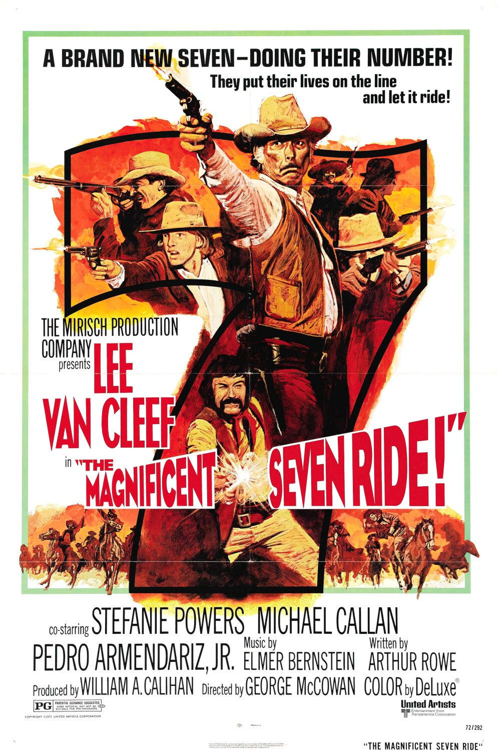 Poster Pelicula The Magnificent Seven Ride!