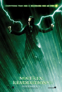 Poster Pelicula The Matrix Revolutions
