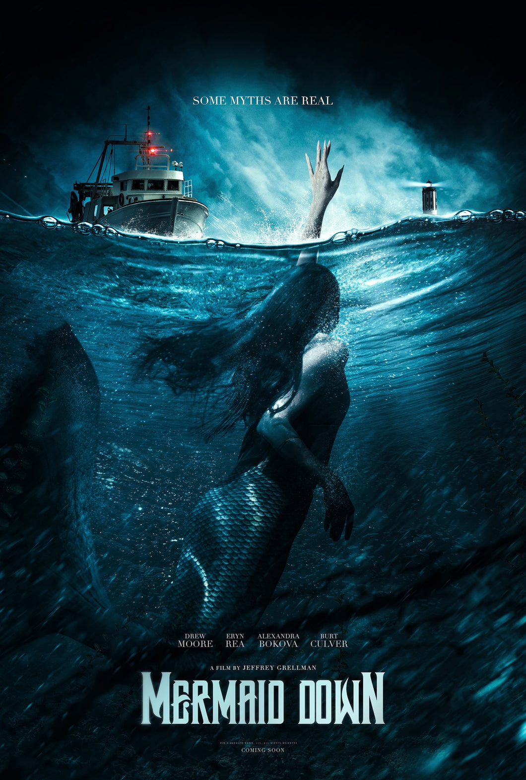 Poster Pelicula Mermaid Down