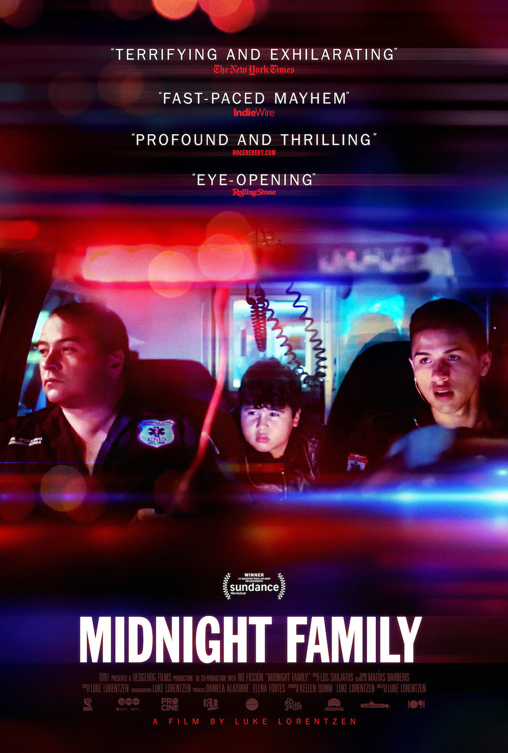 Poster Pelicula Midnight Family