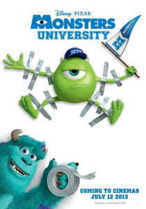 Poster Pelicula Monsters University