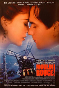 Poster Pelicula Moulin Rouge
