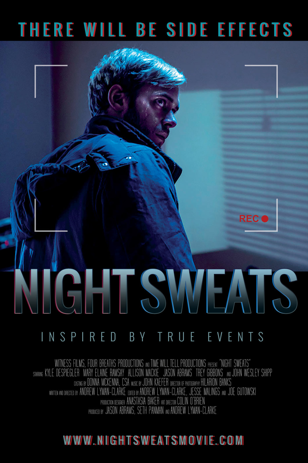 Poster Pelicula Night Sweats