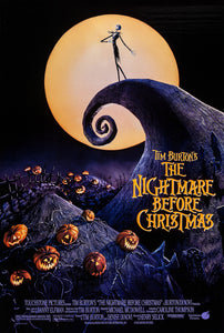 Poster Pelicula The Nightmare Before Christmas