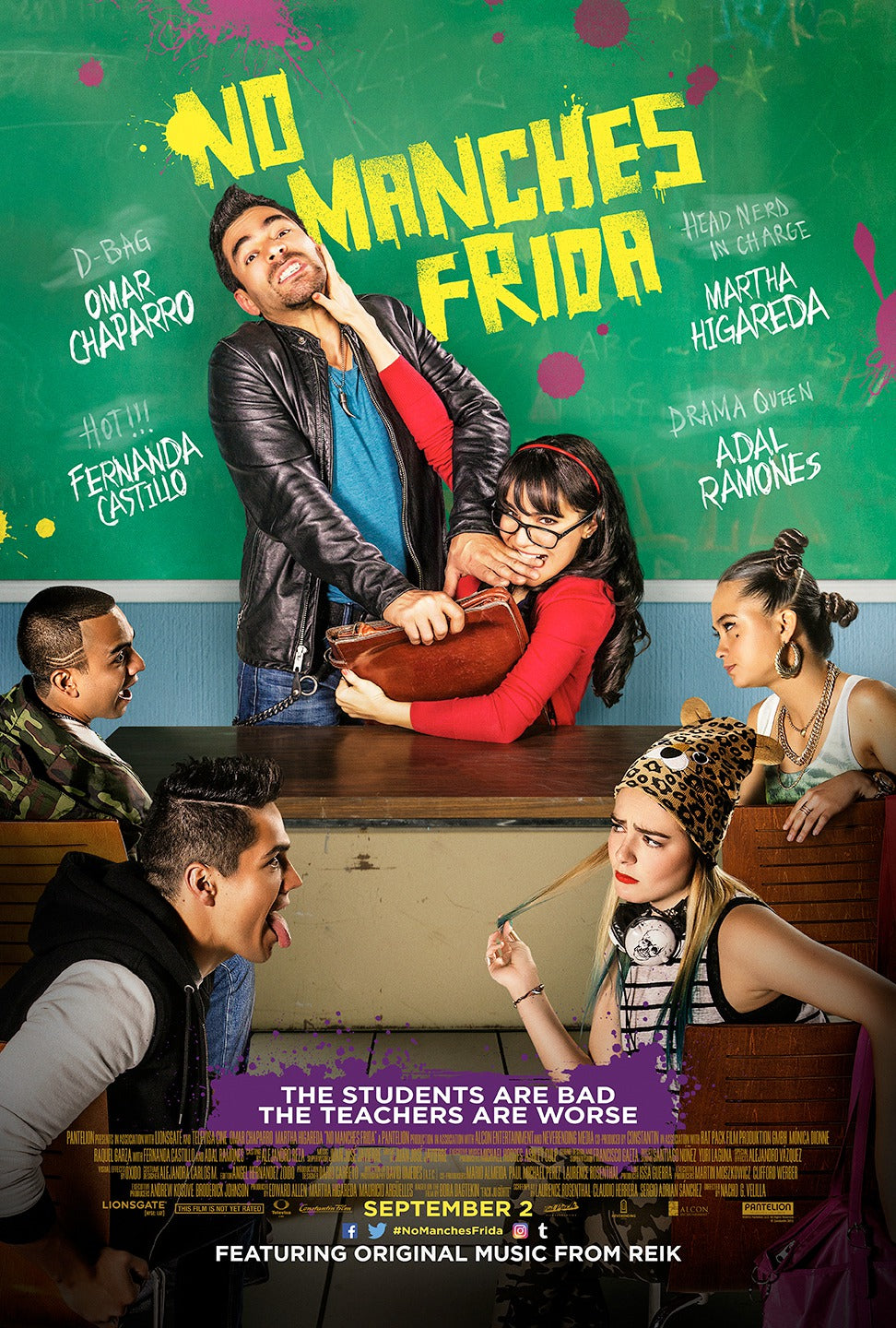 Poster Pelicula No Manches Frida