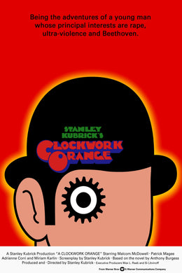 Poster Pelicula A Clockwork Orange