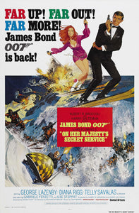Poster Pelicula On Her Majesty's Secret Service