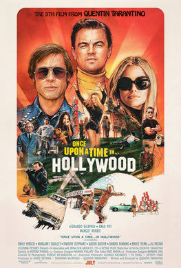 Poster Película Once Upon a Time in Hollywood 6