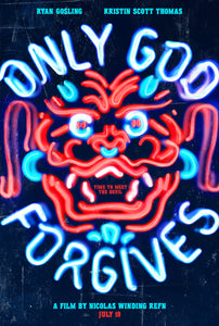Poster Pelicula Only God Forgives
