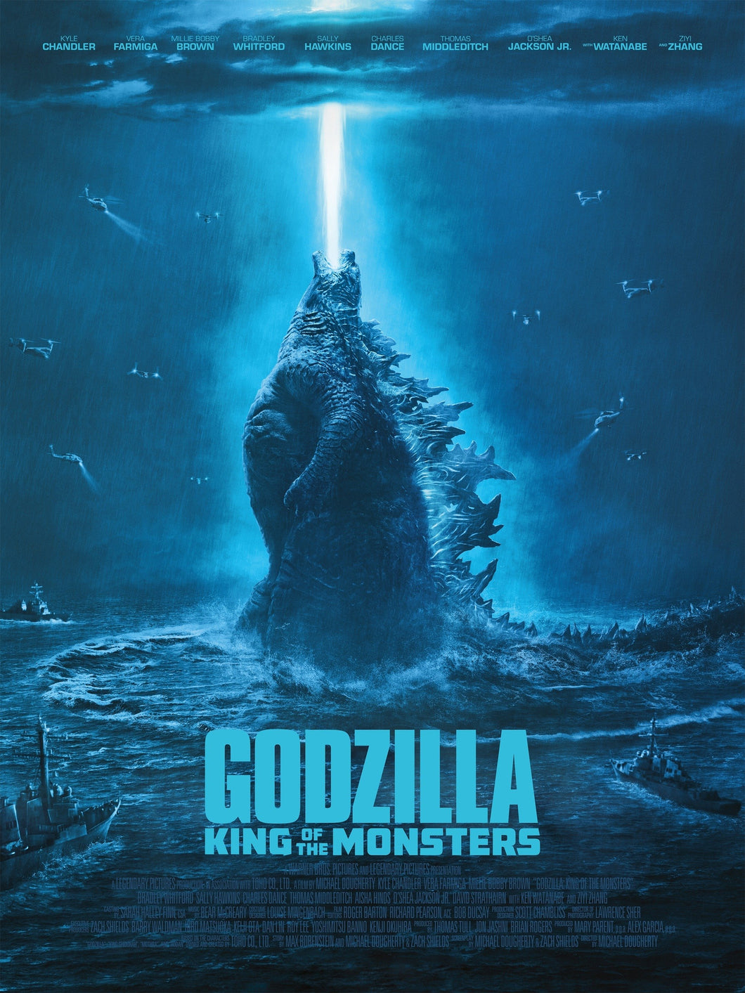 Poster Pelicula Godzilla: King of the Monsters 13