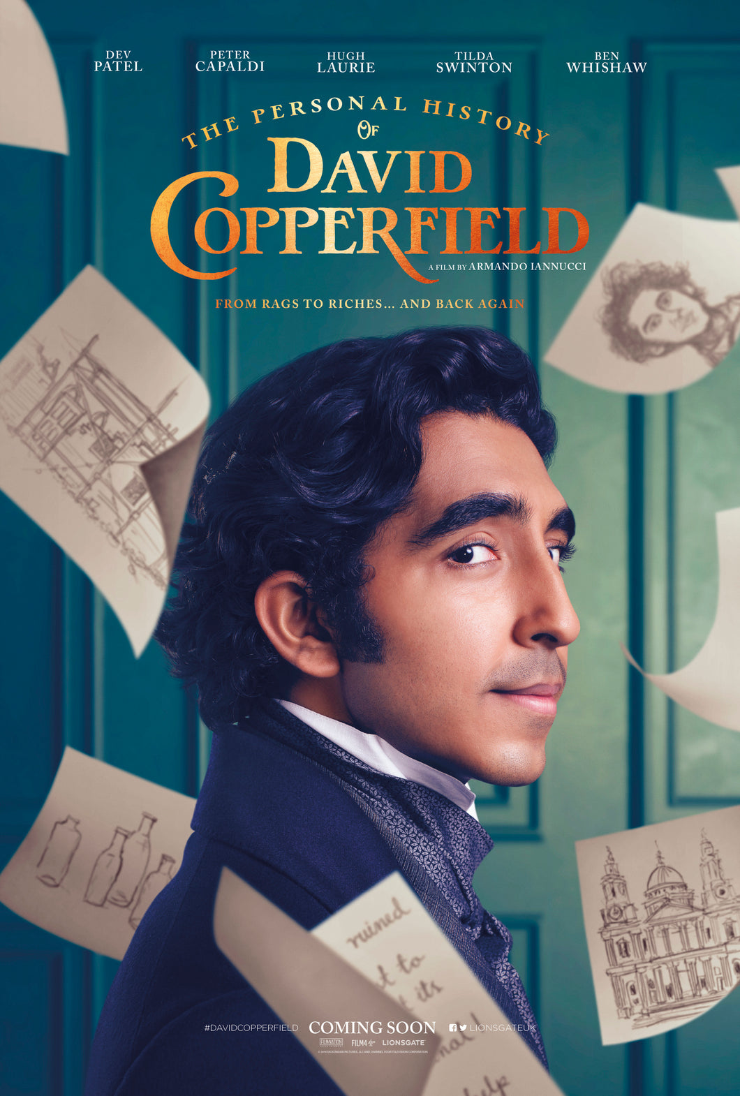 Poster Pelicula The Personal History of David Copperfield