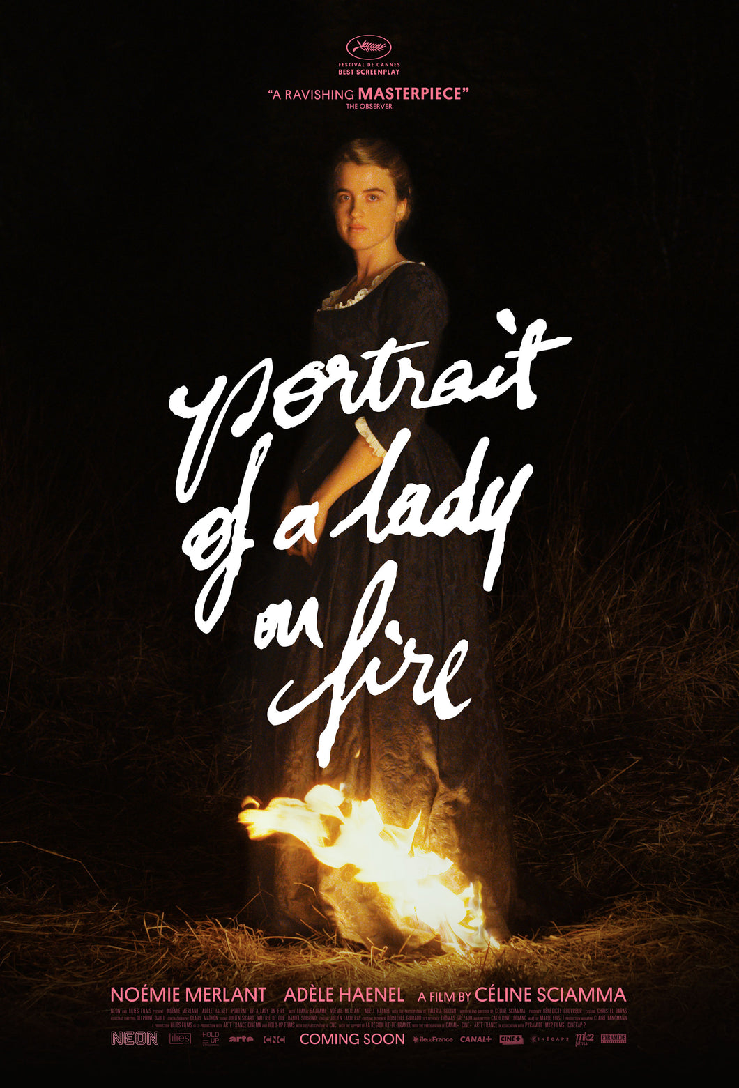 Poster Pelicula Portrait of a Lady on Fire