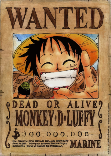 Poster Anime One Piece