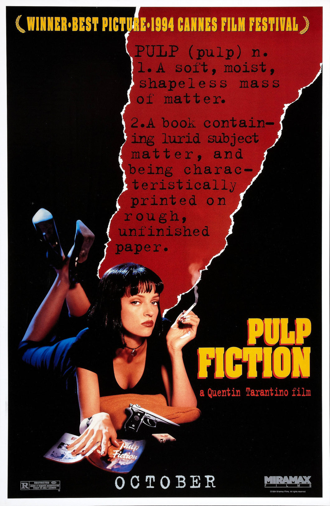 Poster Película Pulp Fiction 2