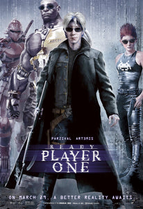 Poster Pelicula Ready Player One